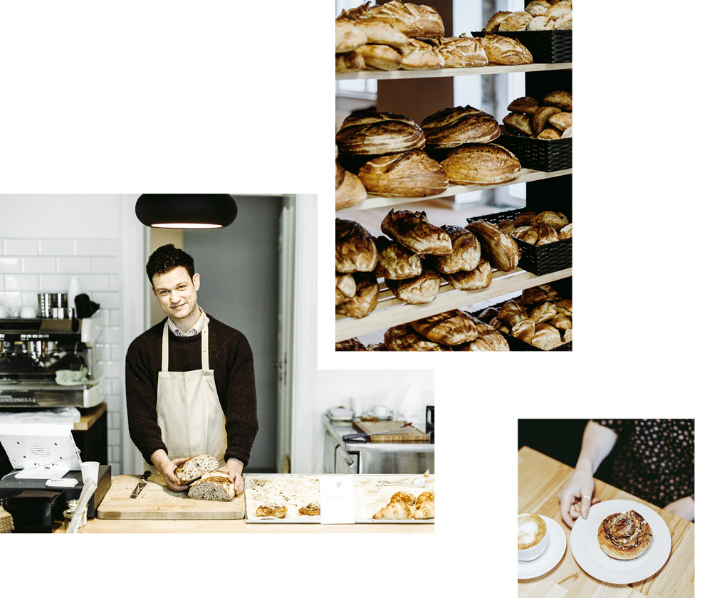 CAROLINE STEPHENSON SUGGESTS: THE BREAD STATION