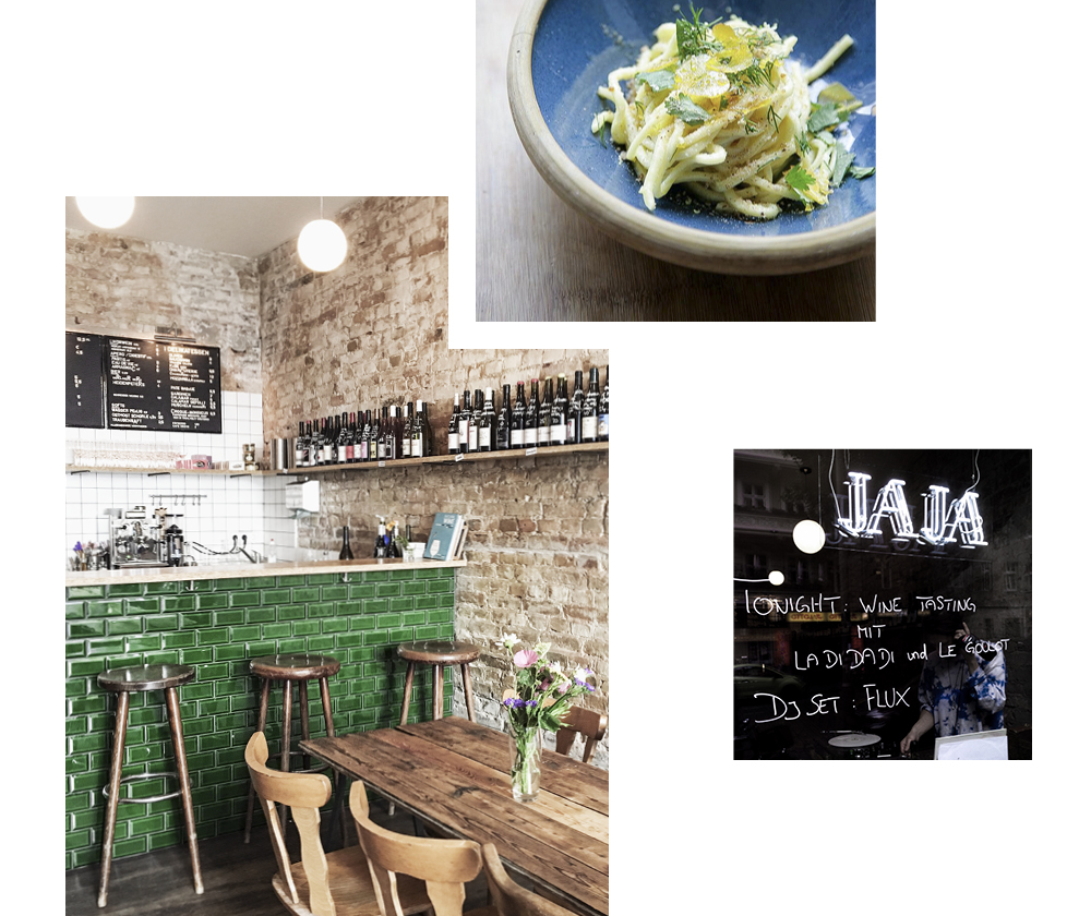 CAMILLE DARROUX RECOMMENDS: JAJA WINE BAR