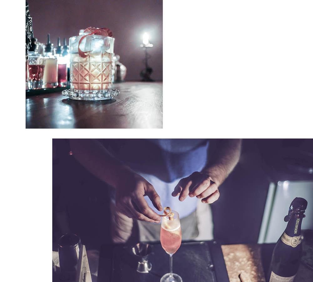 SCHLOSS NEUSCHWEINSTEIGER — EINE BAR FÜR GEWAGTE DRINKS