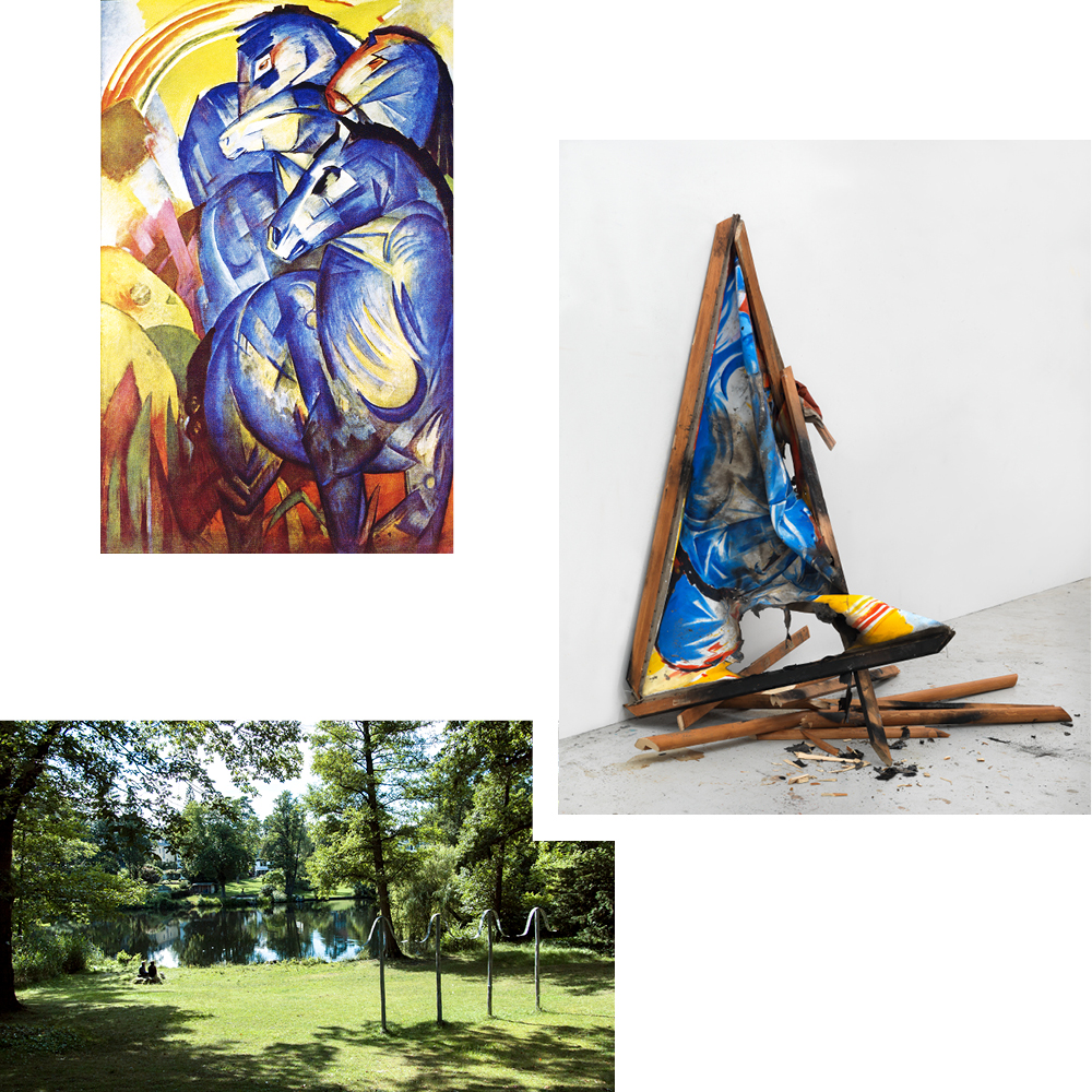 THE LOST PAINTING: FRANZ MARC'S TOWER OF BLUE HORSES