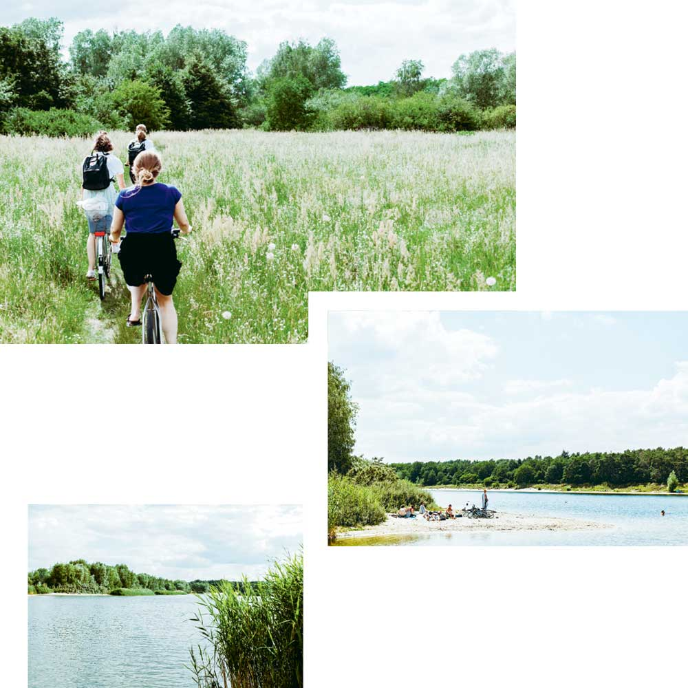 THIS SUMMER — RIDE YOUR BIKE TO HABERMANNSEE