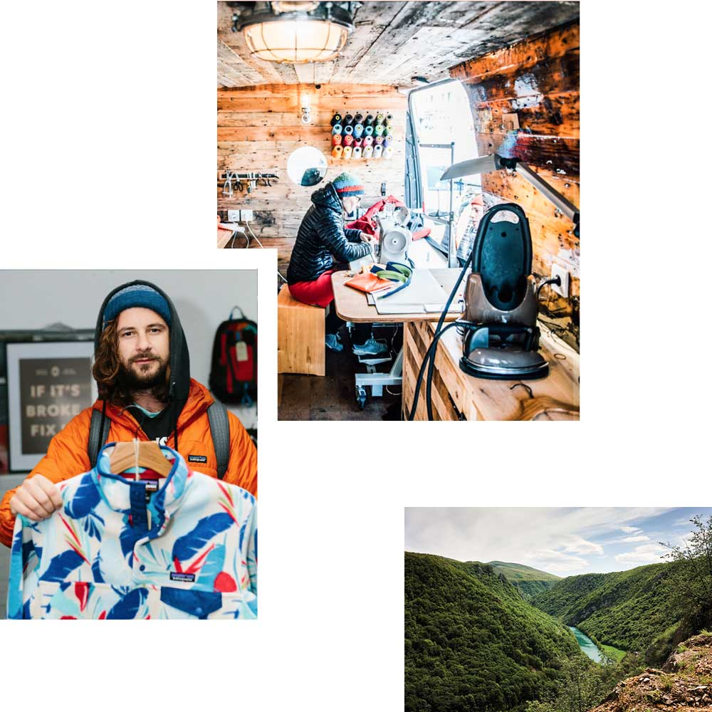 OUTDOOR REVISITED: PATAGONIA SECONDHAND & REPARATUR-SHOP