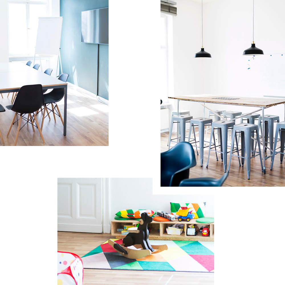 JUGGLEHUB — CO-WORKING SPACE MIT KINDERBETREUUNG
