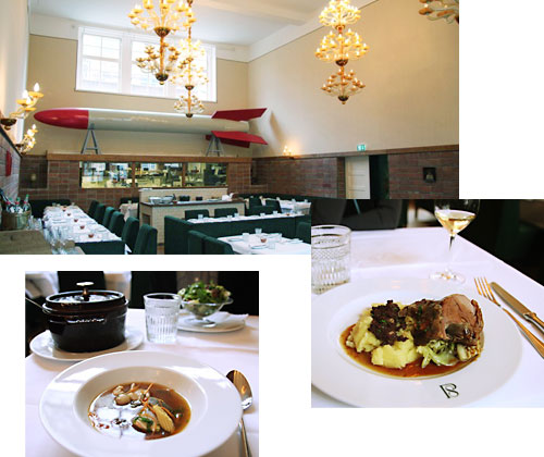 UPSCALE LUNCH AT PAULY SAAL
