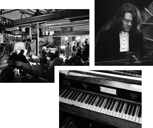 DER PIANO SALON — KLASSISCHE MUSIK, INDUSTRIELLE ATMOSPHÄRE