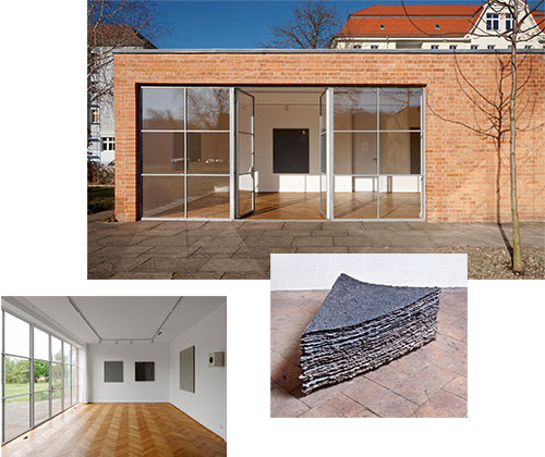 hauptsache grau 3 art at the mies van der rohe haus. Black Bedroom Furniture Sets. Home Design Ideas