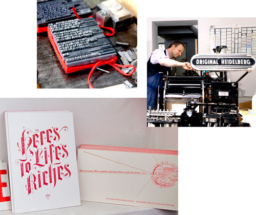FOR THE LOVE OF LETTERS: PRINTED MATTER FROM DRUCKEREY