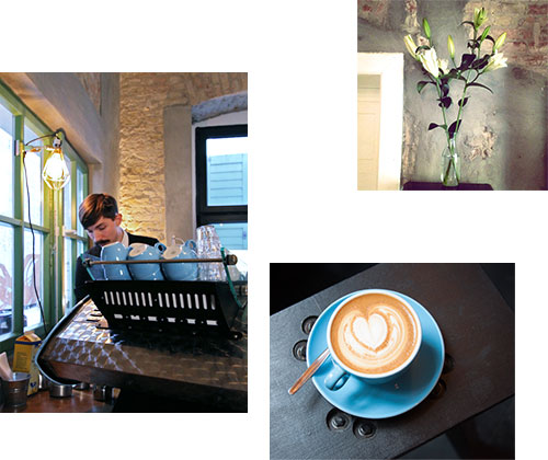 CONCIERGE COFFEE: A SMALL CAFE PACKED WITH ROASTY AROMA