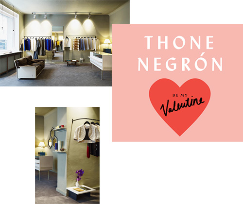 THONE NEGRÓN'S VALENTINES SPECIAL AT THE NEW BOUTIQUE