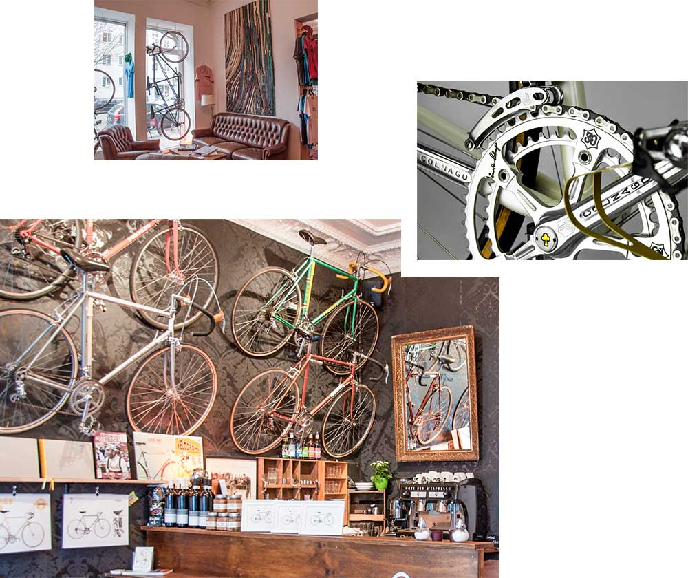 STEEL VINTAGE BIKES CAFÉ — THE SPIRIT OF CYCLING