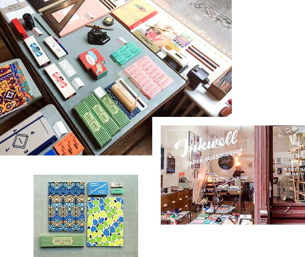 INKWELL POP-UP-SHOP: VINTAGE STATIONARY & RISOGRAPHIE