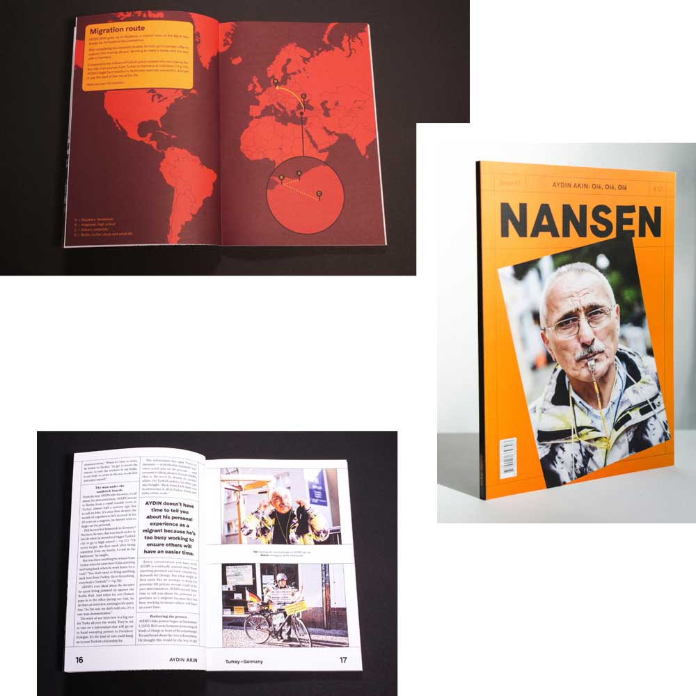 NANSEN: AN INDEPENDENT MAGAZINE EXPLORING MIGRATION