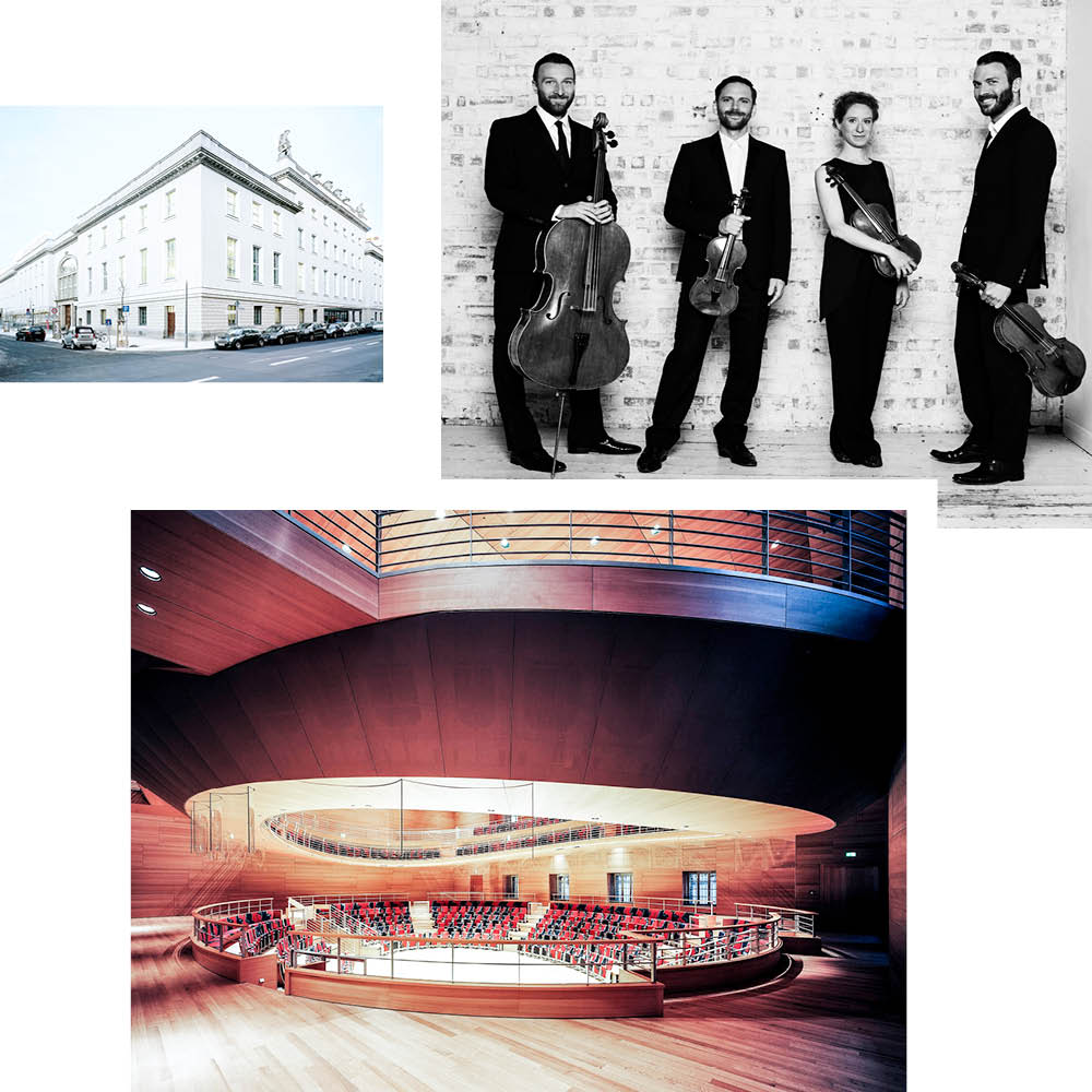 MUSIC FOR THE THINKING EAR AT THE PIERRE BOULEZ SAAL