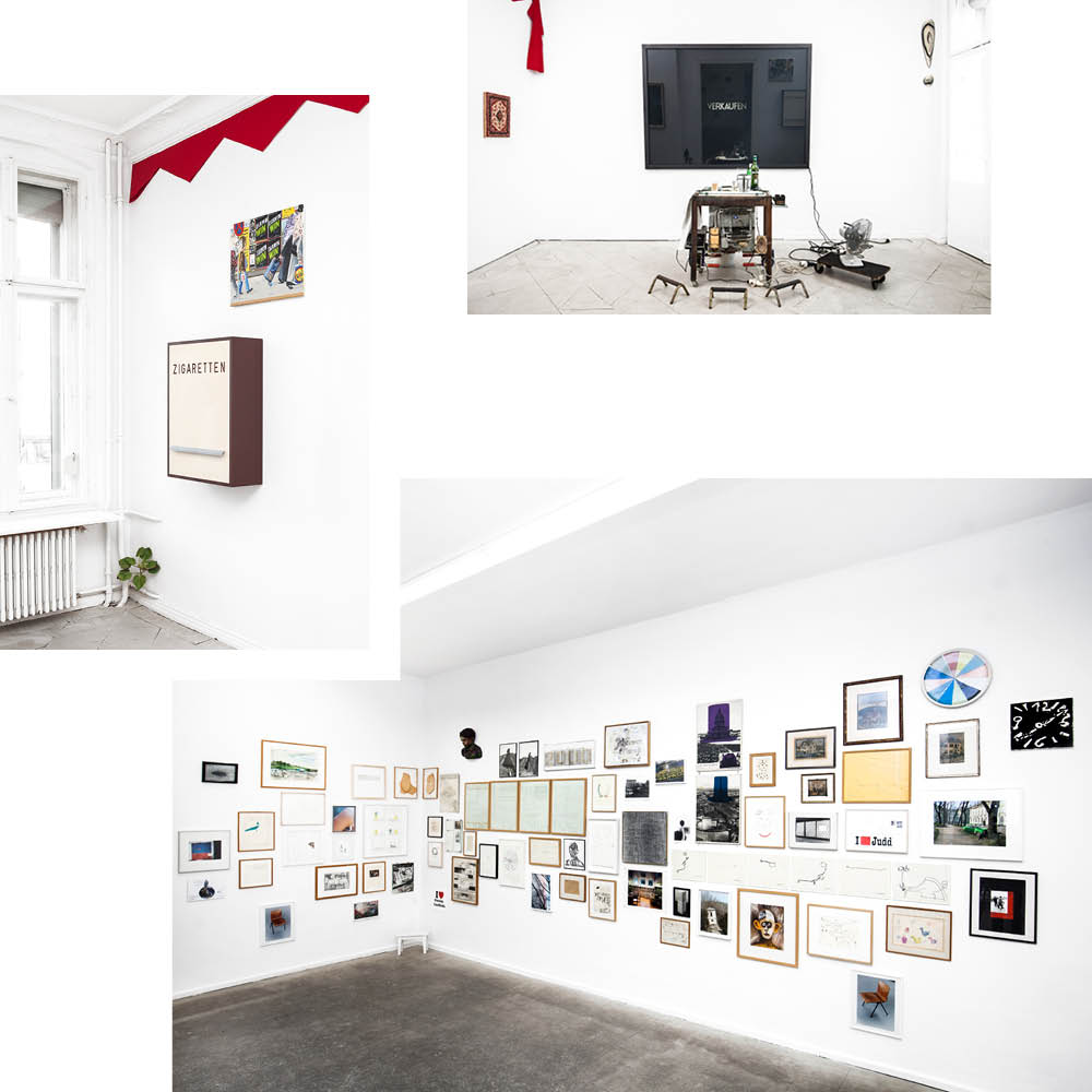KASPER KÖNIG'S PRIVATE COLLECTION ON VIEW AT THOMAS FISCHER