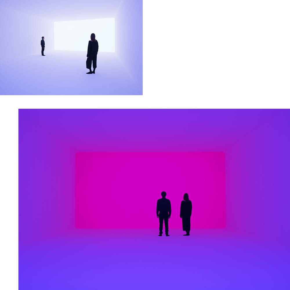 "TO THE EDGE OF PERCEPTION AND BACK: JAMES TURRELL'S ""AURAL"""