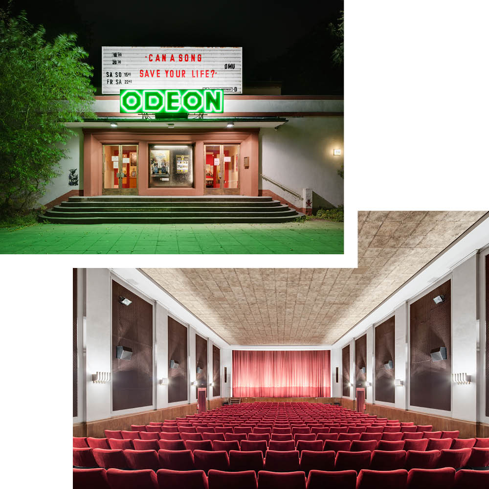 ODEON KINO: A VINTAGE CINEMA WITH A CULT FOLLOWING