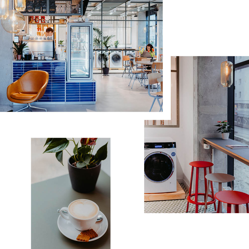 WASCHKÜCHE: KAFFEE & CO-WORKING ZWISCHEN DUFTEND FRISCHER WÄSCHE