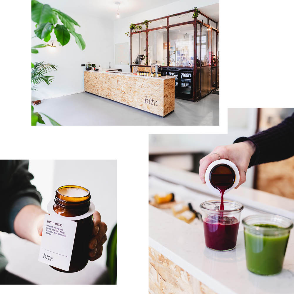 BTTR — BACK TO THE ROOTS: STAY HEALTHY WITH FRESH JUICES, ADAPTOGENS & HOUSE-MADE MYLK