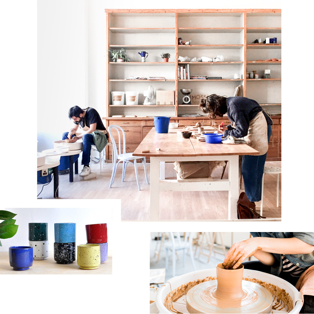 MOSS KERAMIK — LEARN THE ART OF POTTERY FROM MIA OR VISIT THE OPEN STUDIO