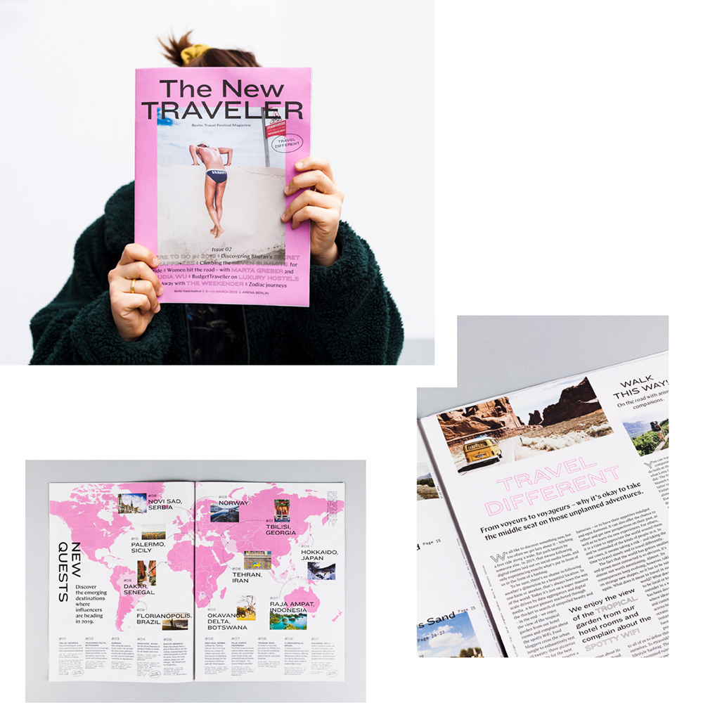 THE NEW TRAVELER MAGAZINE — KOMM ZUR LAUNCH-PARTY DIESEN SAMSTAG