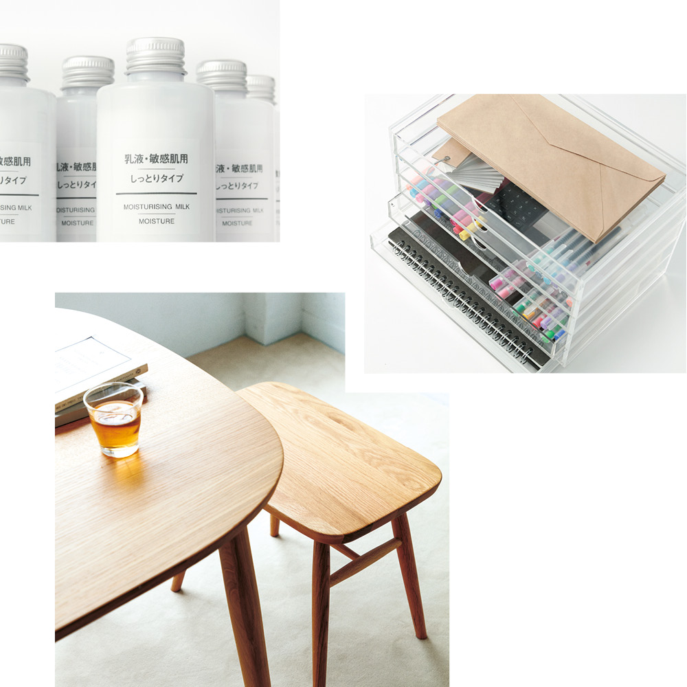 FINDING EVERYDAY ESSENTIALS THAT SPARK JOY AT MUJI