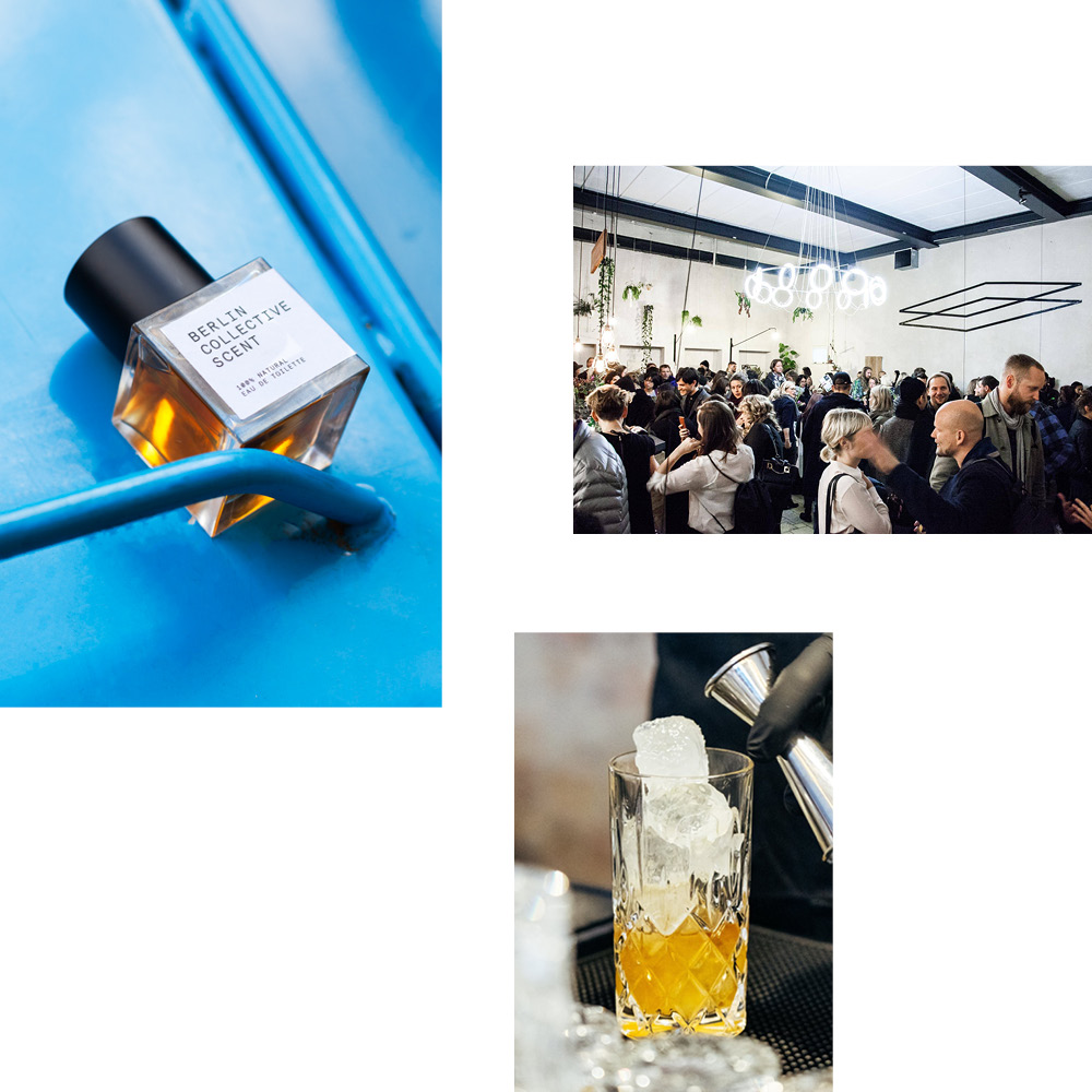 BERLIN COLLECTIVE SCENT — JOIN US FOR THE LAUNCH EVENT OF OUR LIMITED EDITION PERFUME