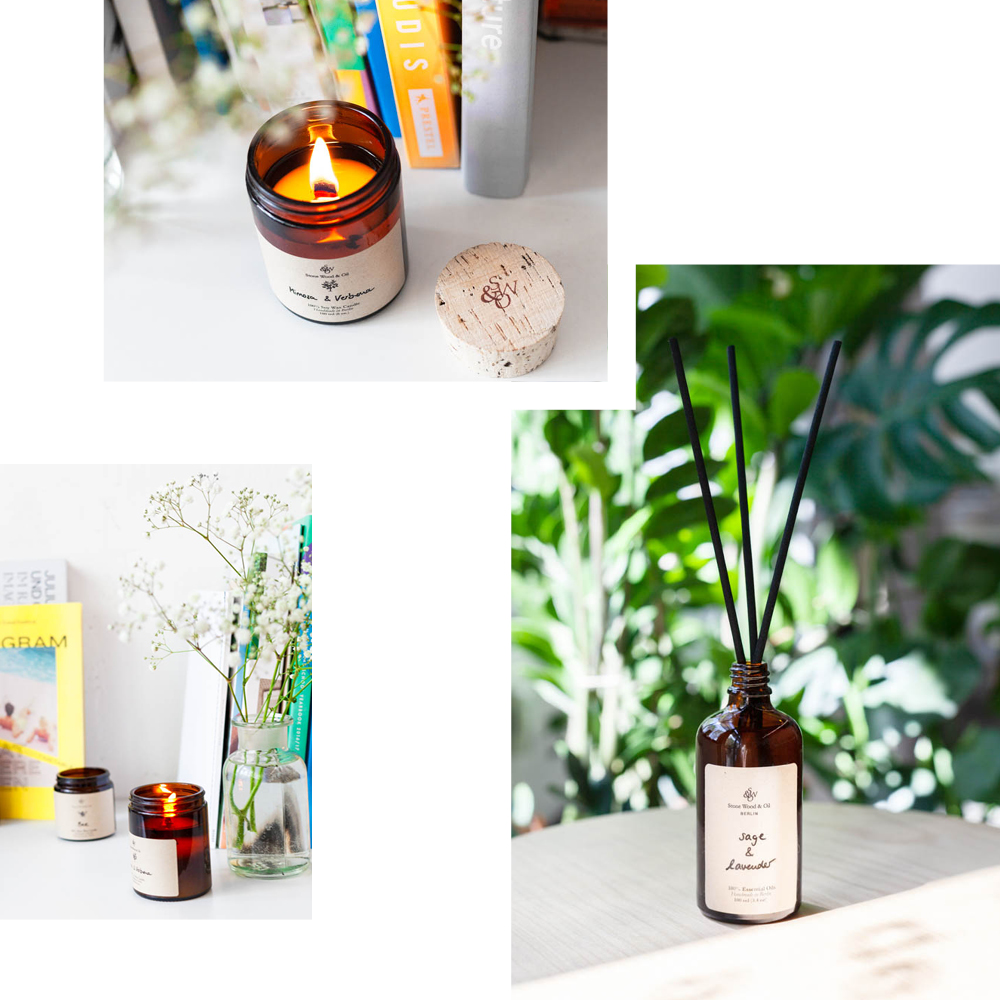 REFINED FRAGRANCE FOR THE HOME WITH CANDLES AND SCENTS FROM STONE, WOOD & OIL