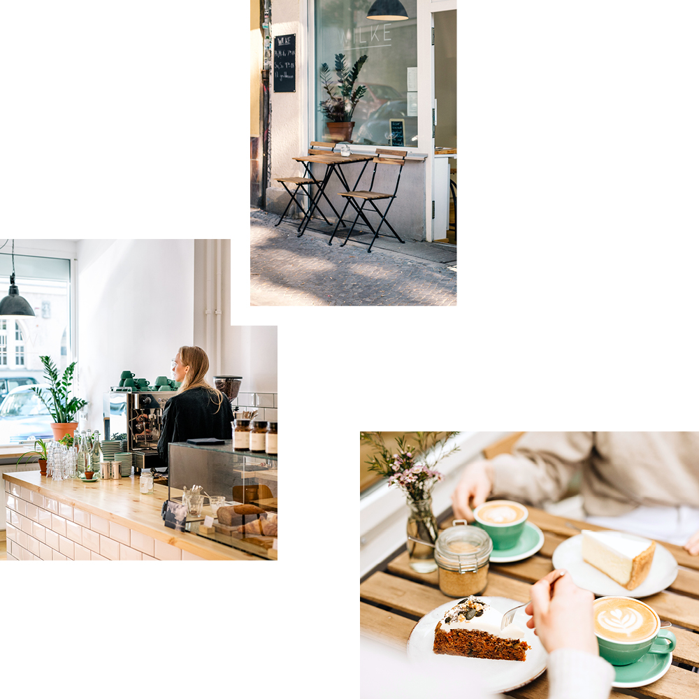 WILKE: COFFEE & FRESHLY BAKED CAKES IN A FRIENDLY SPACE — RECOMMENDED BY JO FRASER