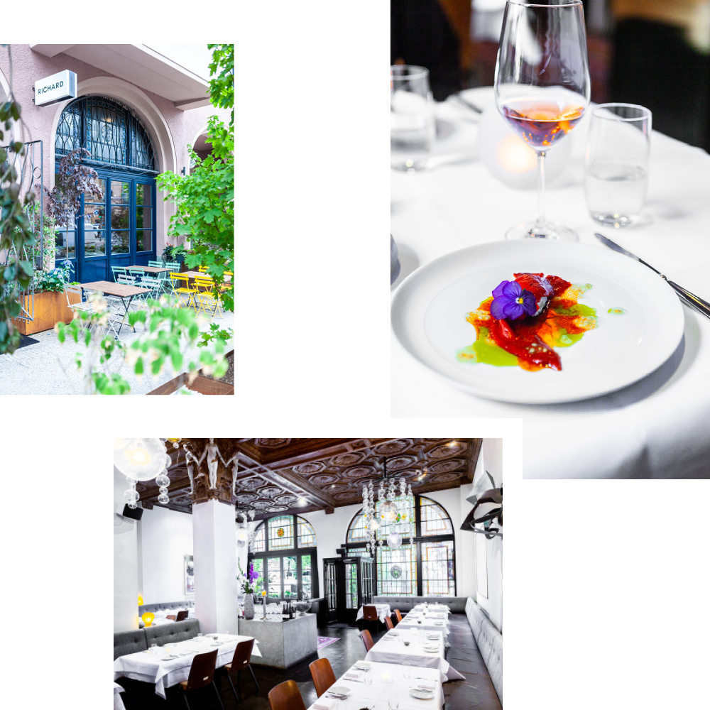 GET THE VEGETABLE GARDEN ON YOUR PLATE: TUTTI FRUTTI AT RESTAURANT RICHARD