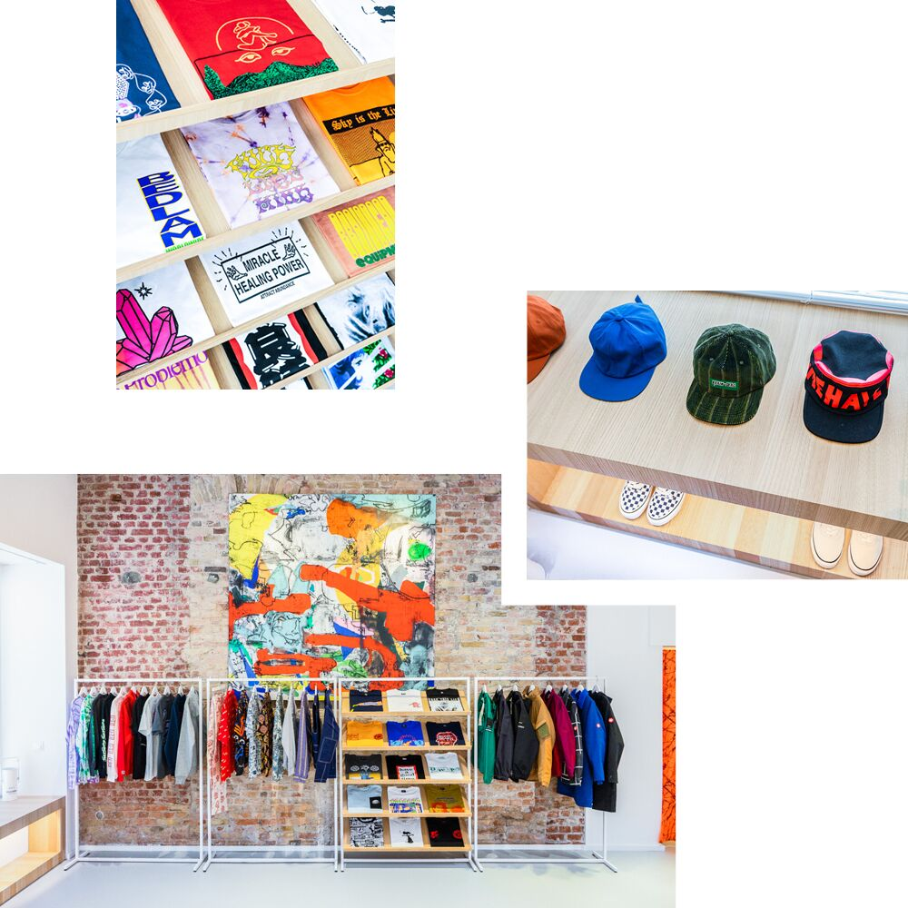 CAREFULLY CURATED COLORFUL STREETWEAR AT SPORADIC — RECOMMENDED BY CLAIRE MOUCHEMORE