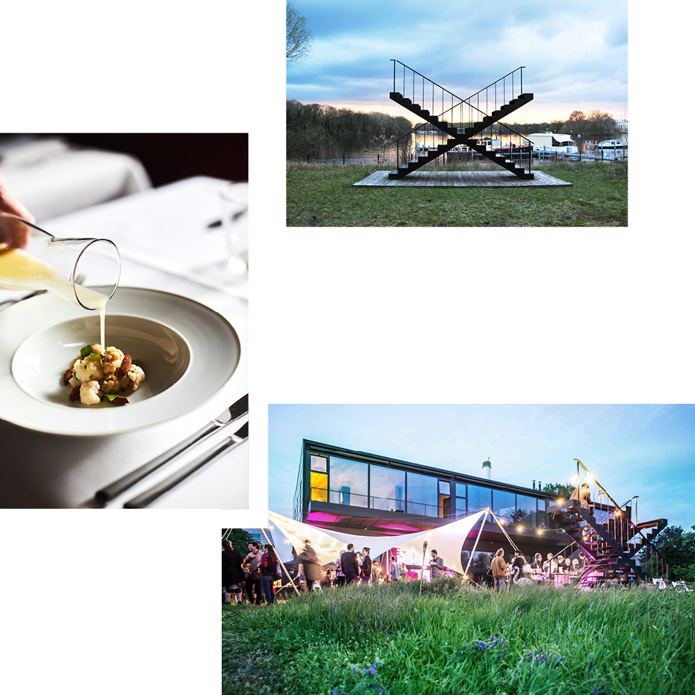 LOVERS BY THE WATER — FIVE FOOD INNOVATORS HEAD FOR THE RUMMELSBURGER BUCHT