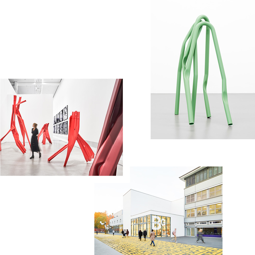 BETTINA POUSTTCHI AT THE BERLINISCHE GALERIE: BLENDING SCULPTURE, PHOTOGRAPHY AND ARCHITECTURE