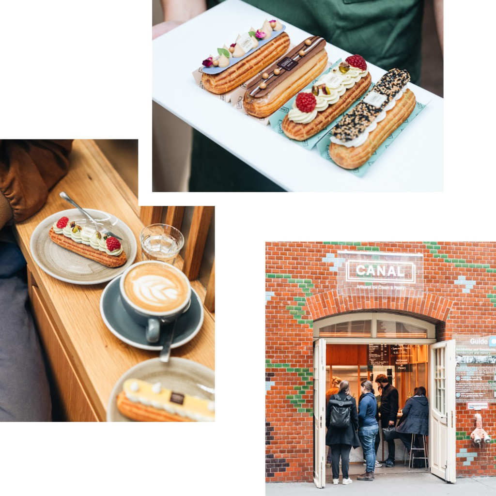 CANAL: HEAVENLY ECLAIRS AT HACKESCHER MARKT — RECOMMENDED BY LIZA KOVALOVA
