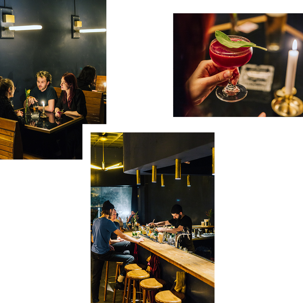BRUTAL 54 FOR TASTY DRINKS IN A LIVELY SETTING — RECOMMENDED BY GEORGIE POPE