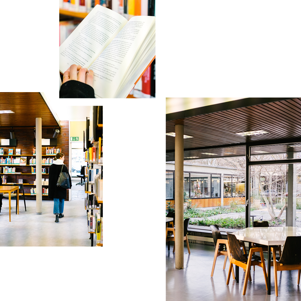 READING & BROWSING IN MIDCENTURY AMBIENCE — THE HANSABIBLIOTHEK IN TIERGARTEN