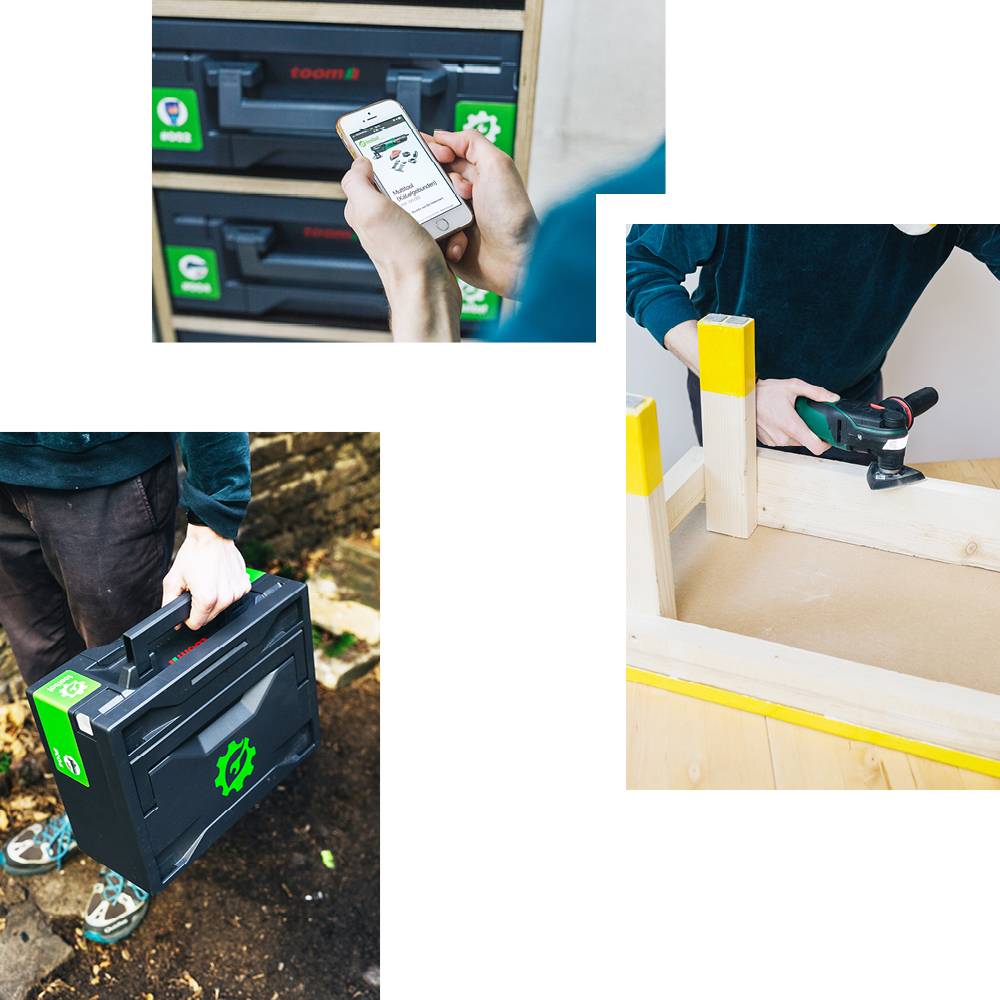 TOOLBOT: THE SELF-SERVICE RENTAL KIOSK FOR DRILLS, SAWS AND MORE