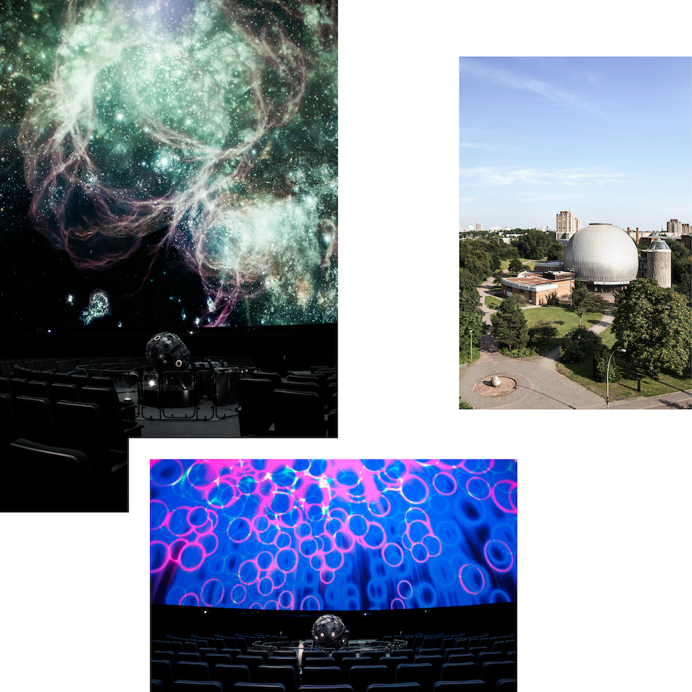 BOOK YOUR TICKET FOR AN INTERGALACTIC JOURNEY AT THE ZEISS PLANETARIUM
