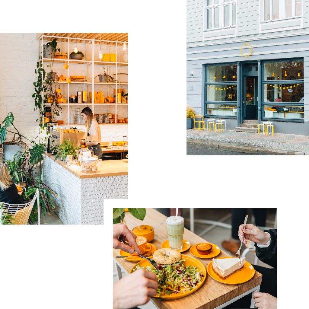 HONIGGELB: SUNNY SPOT FOR FRESH LUNCHES AND CHILLED COFFEE CATCH-UPS