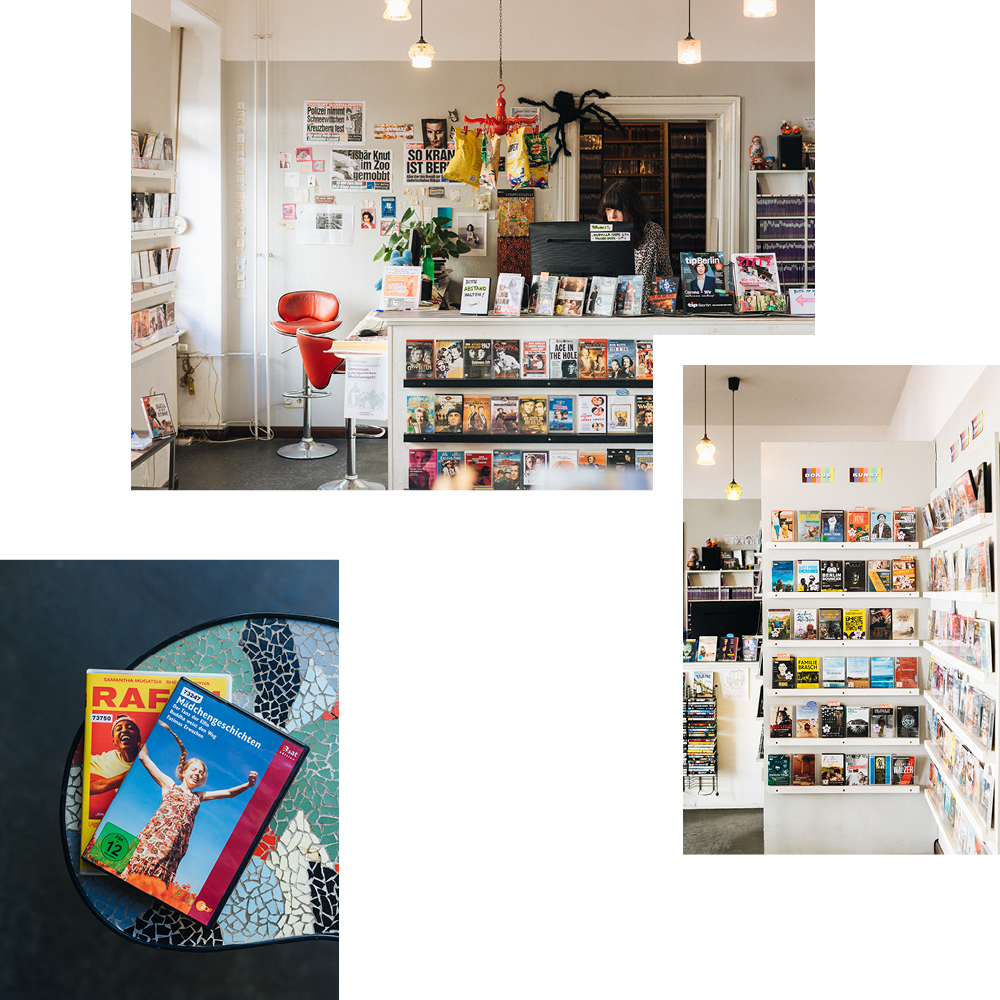 VIDEODROM VIDEO STORE FOR BRICK AND MORTAR MOVIES — RECOMMENDED BY SABINE VON SARNOWSKI