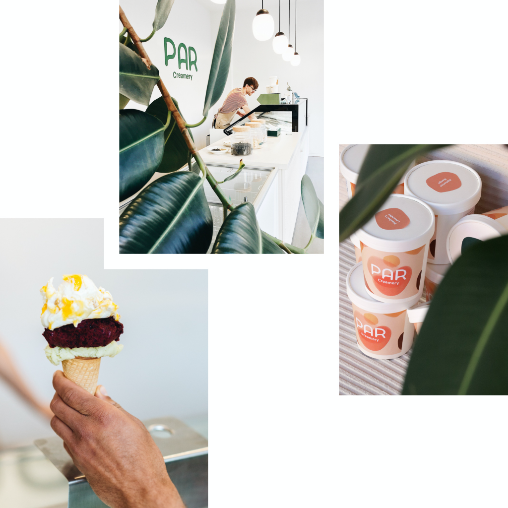 PAR CREAMERY: CREATIVE ICE CREAM AND SORBETS — ALSO FOR VEGANS