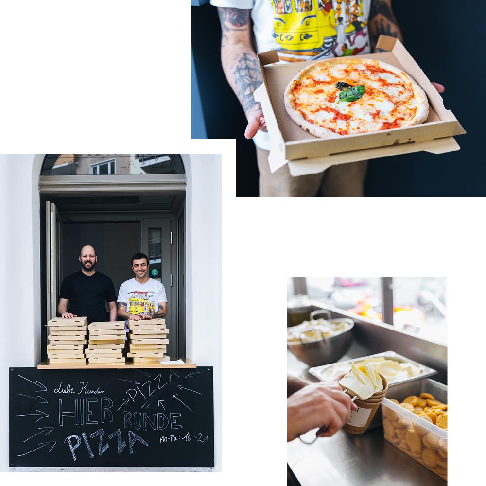 HERVORRAGENDE PIZZA UND HIMMLISCHES EIS VON SIRONI LA PIZZA (HOLEN ODER LIEFERN LASSEN)