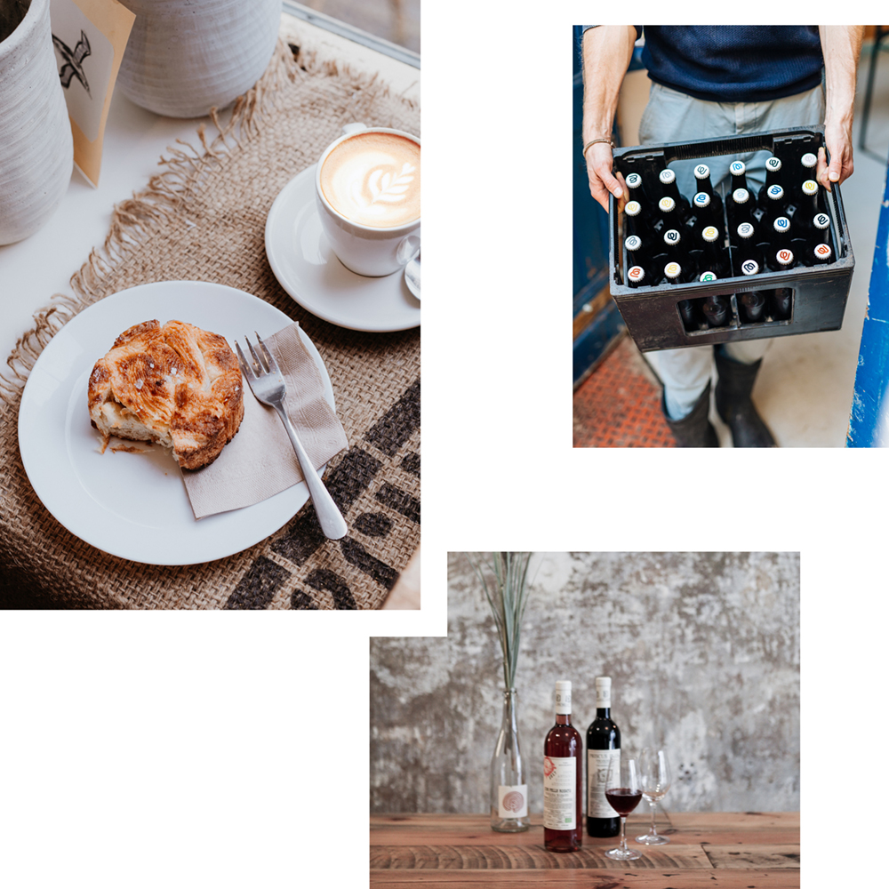 APOCALYPSE DELIVERY — CROISSANTS, COFFEE, CHEESE, WINE AND MORE DELIVERED ON TWO WHEELS
