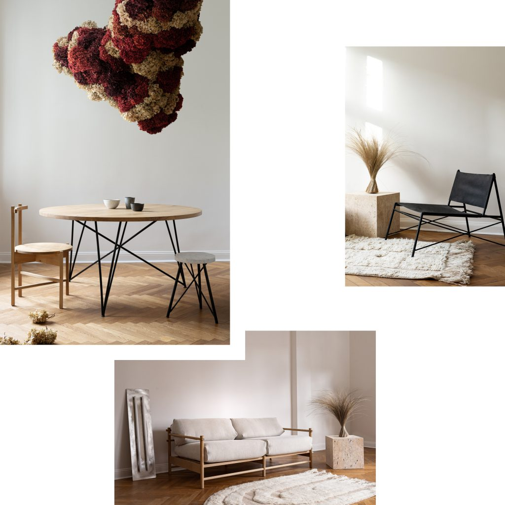 NUTSANDWOODS STUDIO STORE: THE MITTE APARTMENT FOR DISCOVERING YOUR FUTURE FURNITURE