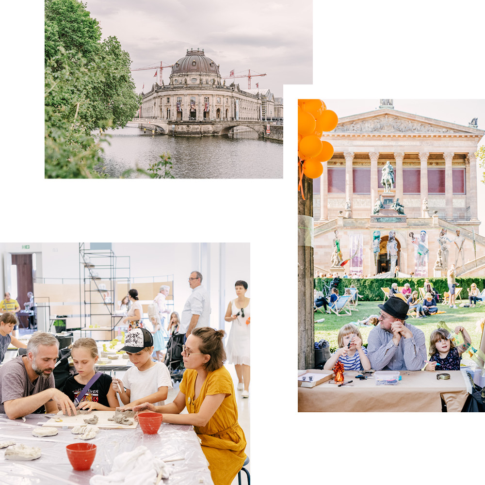 A SUMMER OF CULTURE — TOURS, DRAWING CLASSES AND MORE ON MUSEUM ISLAND