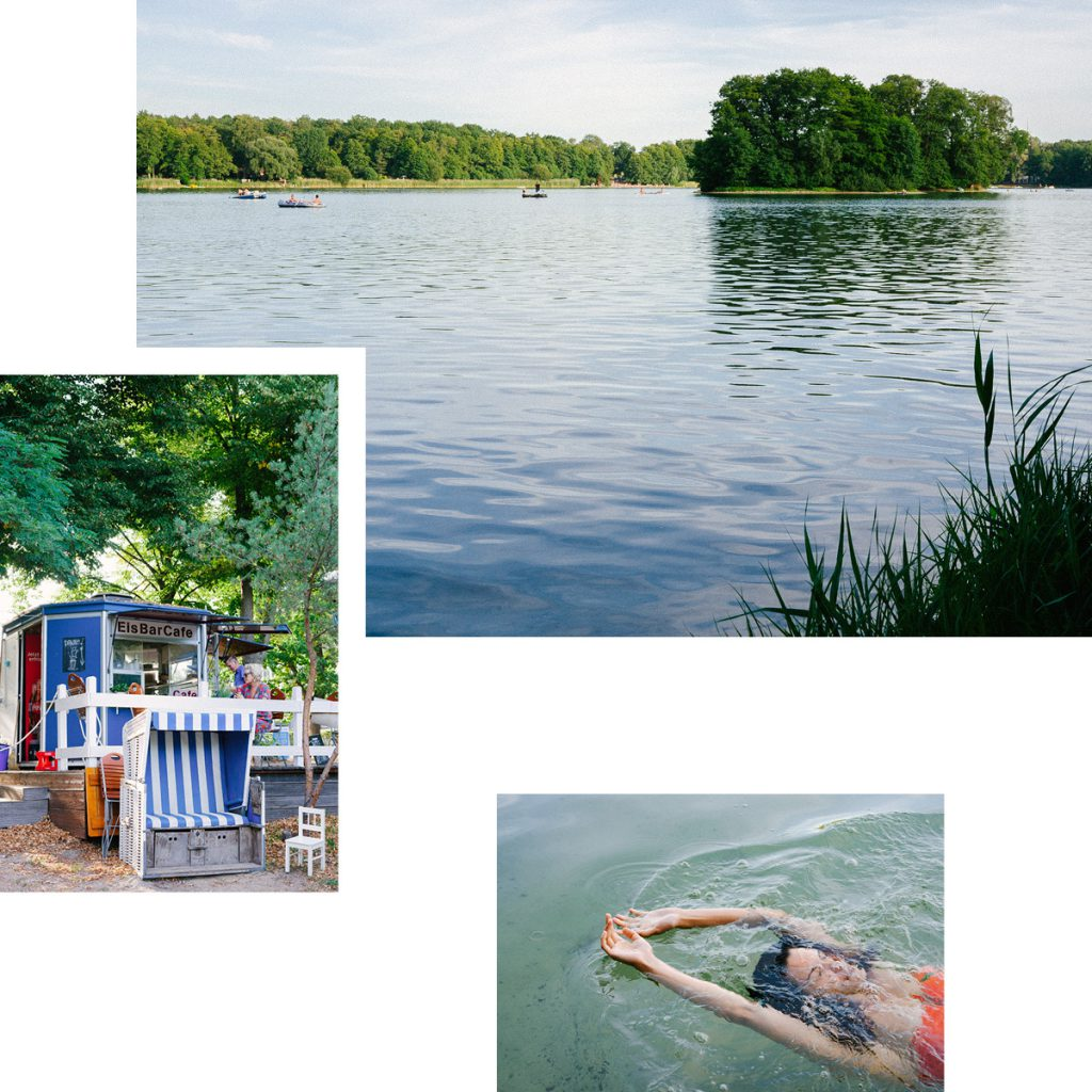 GROß GLIENICKER SEE — SWIMMING AND BOATING IN THE COOL, CLEAR WATER