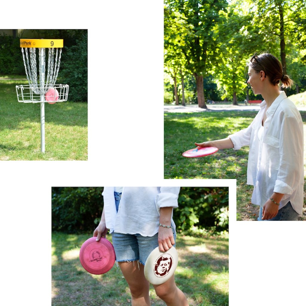 DISC GOLF — THE FRISBEE SPORT FOR KEEN SPINNERS AND PUTTERS