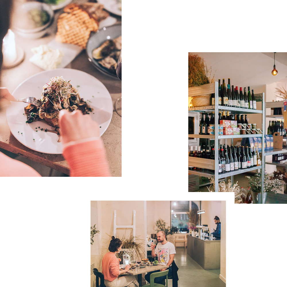 SHED — NATURAL WINE BAR AND DELI FOR SMALL-BATCH BOTTLES AND SEASONAL PLATES