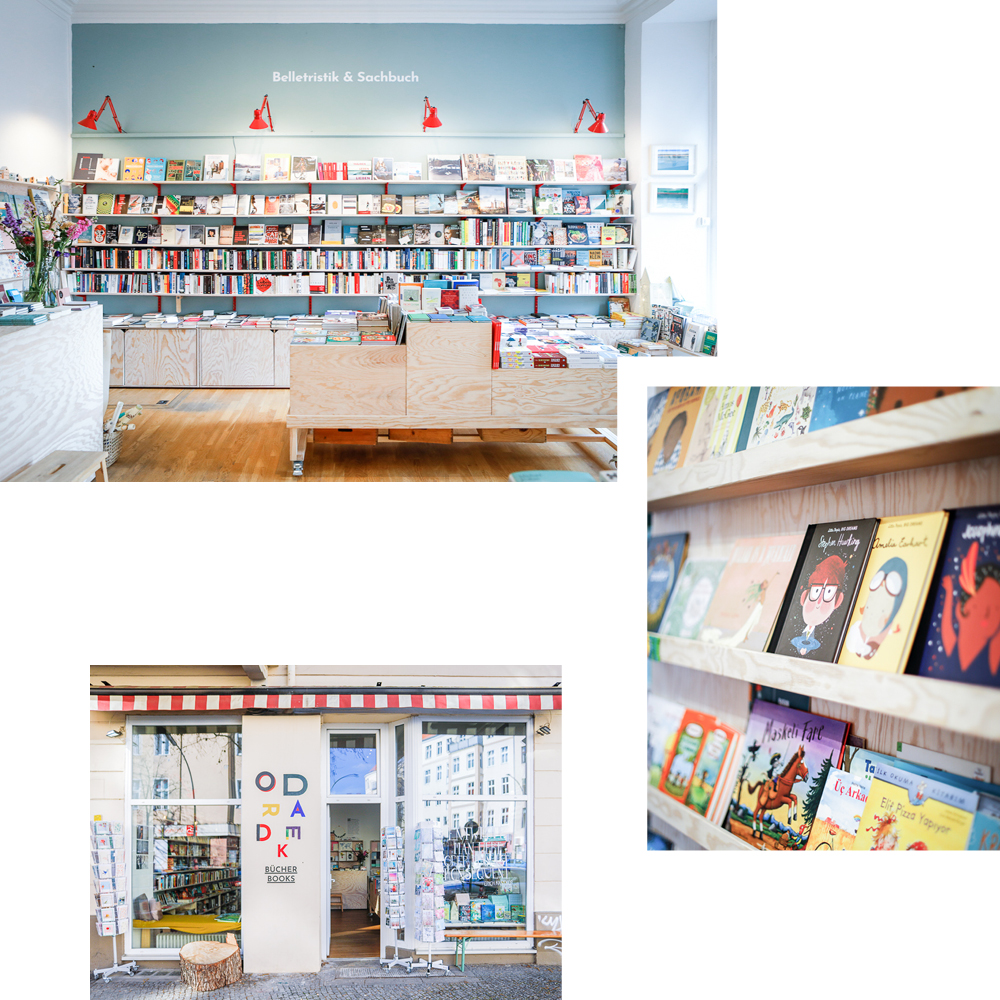 ODRADEK BOOKSHOP — NOVELS, CHILDREN'S BOOKS AND ENGLISH LITERATURE IN SCHÖNEBERG
