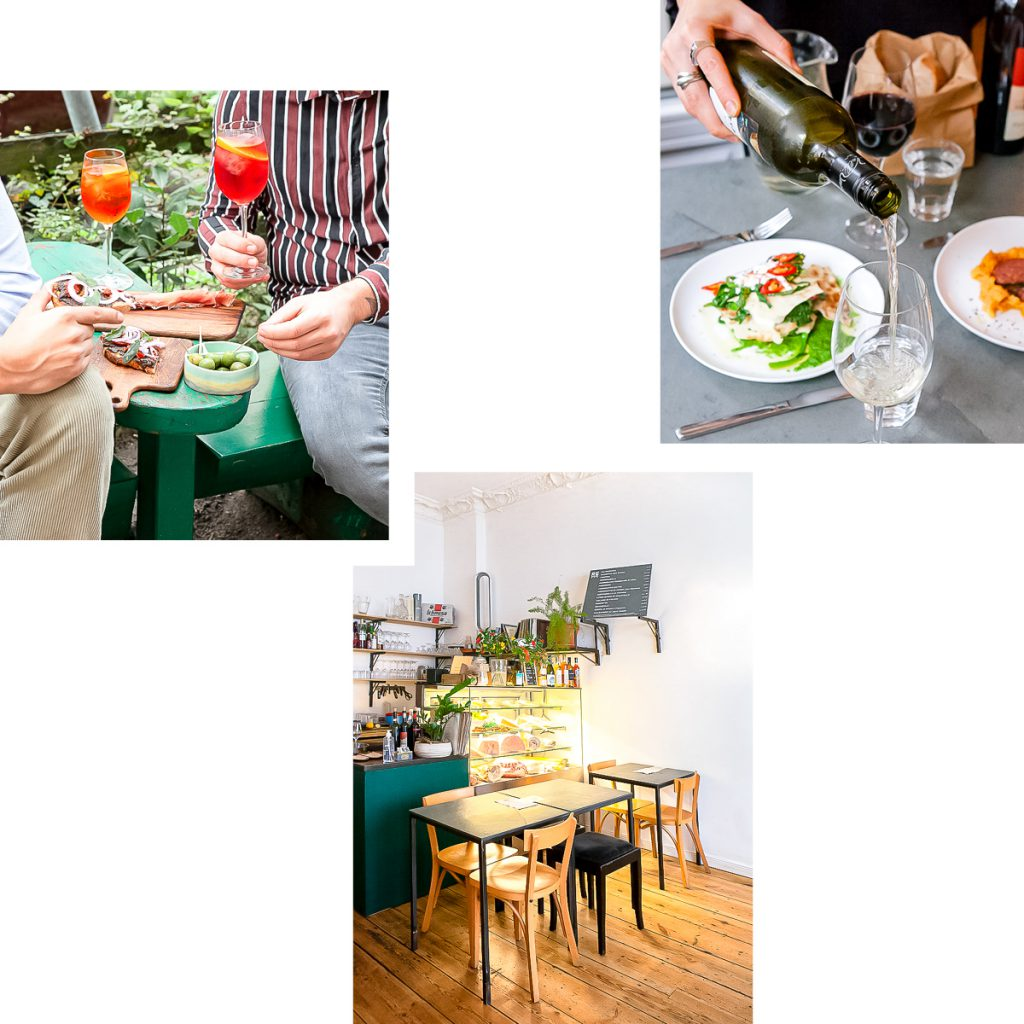 RE CUCINA: COMPACT RESTAURANT FOR CASUAL ITALIAN CUISINE IN GRAEFEKIEZ — NOW TO TAKE AWAY