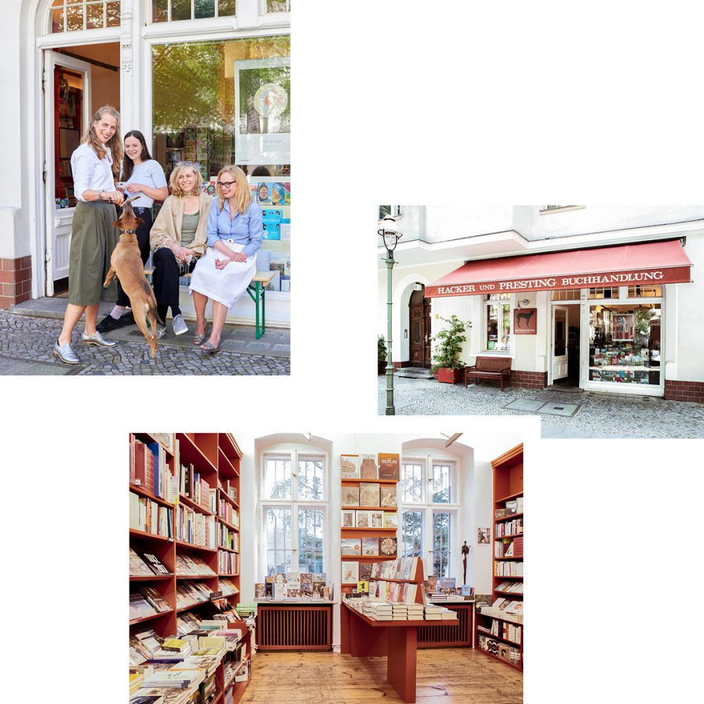 HACKER UND PRESTING: BOOKSHOP WHERE MONTMARTRE MEETS CHARLOTTENBURG — RECOMMENDED BY KIKI ALBRECHT